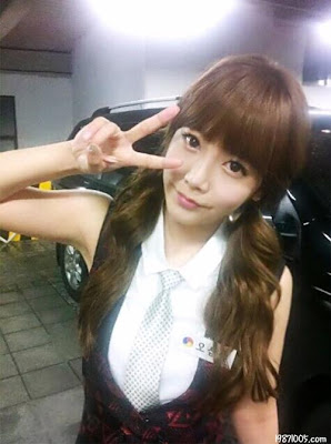 Beautiful T-ara ~ Soyeon Cute V-Sign