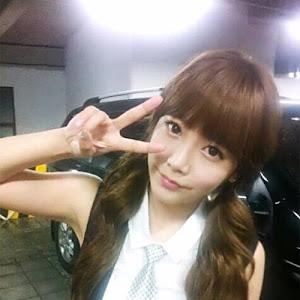 Beautiful T-ara ~ Soyeon Cute V-Sign