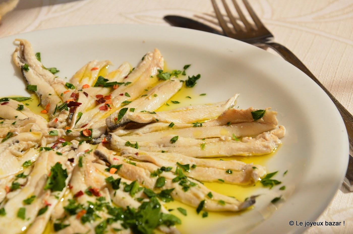 Italie - Les Pouilles  - Gallipoli- anchois