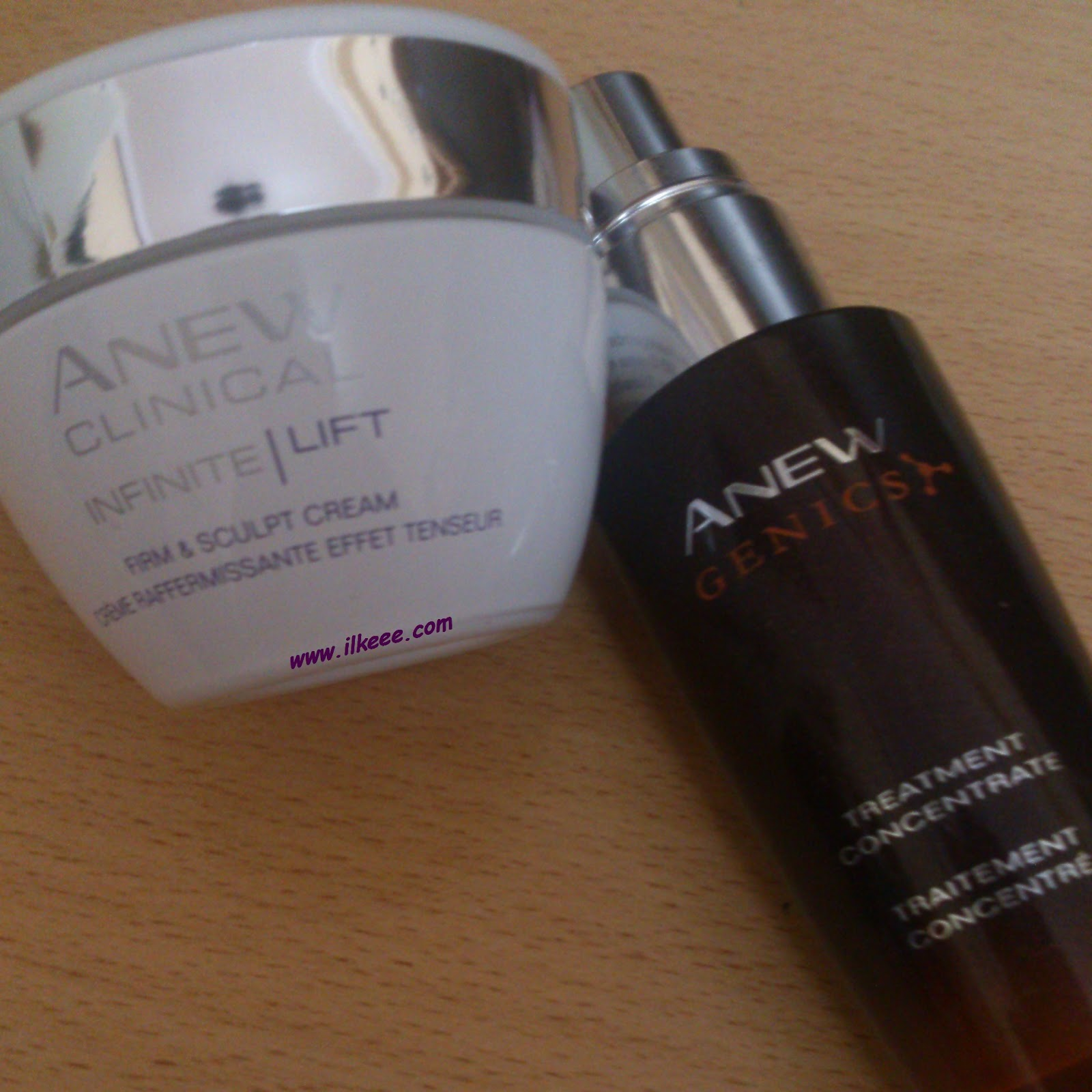 Anew Clinical İnfinite Lift krem - Anew Genics Serumu - Avon Genics Serisi kullananlar - Anew Clinical Serisi kullananlar