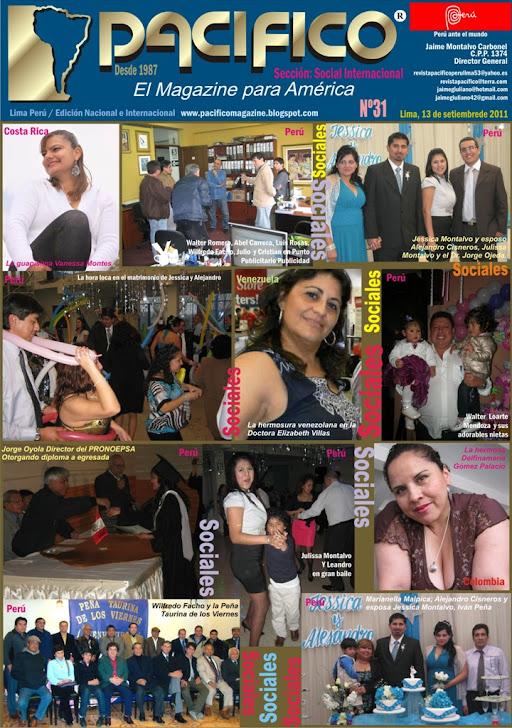 Revista Pacífico Nº 31 Social Internacional