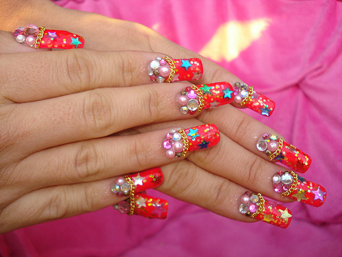 Stunning Simple Party Nail Designs - Gallery - Beauty Best Nail Art: Stunning Simple Party Nail Designs - Gallery