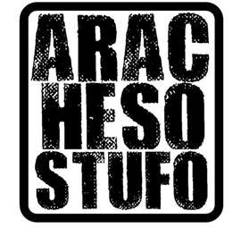 ARACHESOSTUFO è ora un gruppo su FACEBOOK, clicca il logo