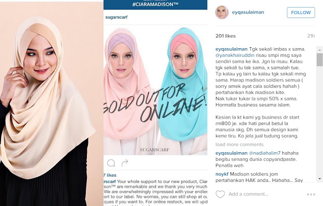 SugarScarf vs neelofar