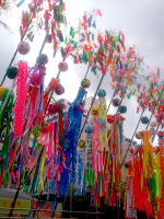 Tall decorations in 平塚 (Hiratsuka)