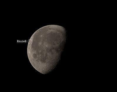 Riccioli Crater