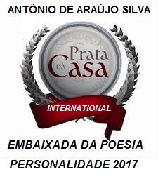 """D'Araújo: """"Prêmio Literário 2017"""""""