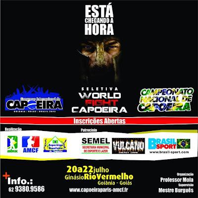 WFC e Campeonato Nacional de Capoeira