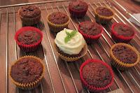 muffiny, cupcakes, mrkvové těsto