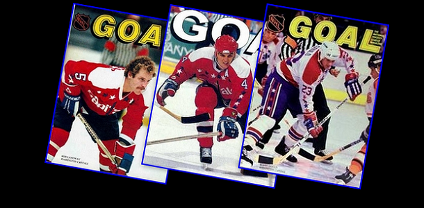 GOAL Magazines: Langway, Hatcher, Gould