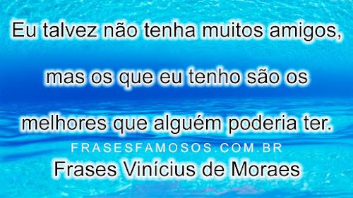 Frases Vinícius de Moraes
