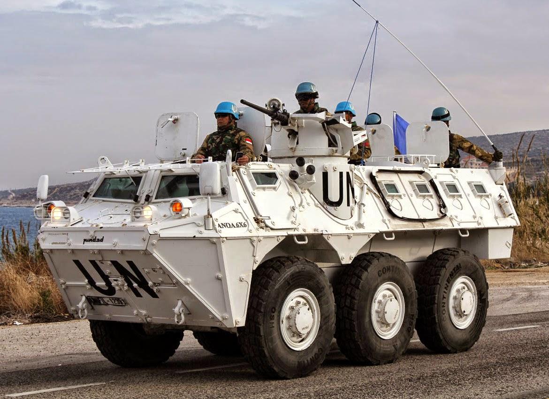 Panser Anoa Kontingen Garuda PBB Konga