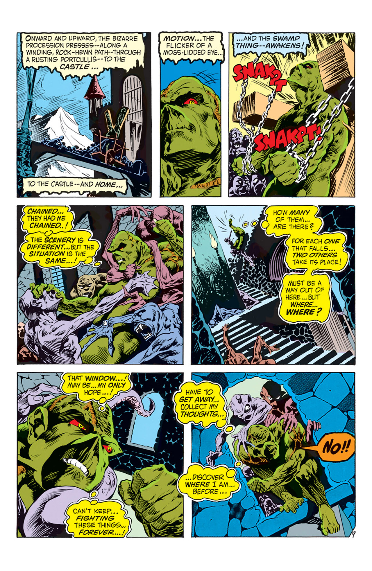 Swamp Thing (1972) Issue #2 #2 - English 10