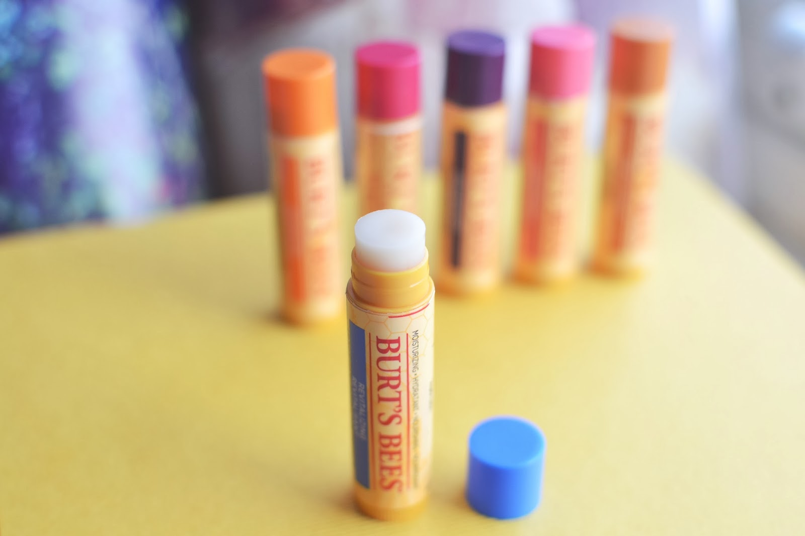 burts bees lip balm, burts bees lip balm review, burts bees blueberry and dark chocolate