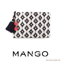 Queen Letizia Style - MANGO Clutch Bag and HUGO BOSS Dress