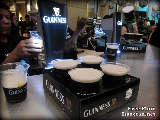 guinness Stout free flow