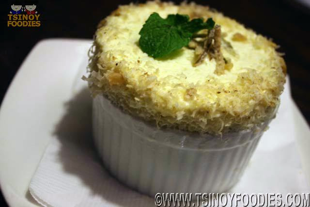 frozen lime souffle