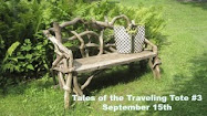 Look for Tales of the Traveling Tote #3 in September