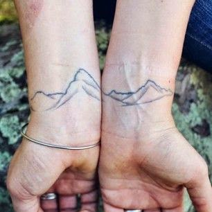 ♥ ♫ ♥ Mountains & Travel Tattoos For Your Next Big Adventure ♥ ♫ ♥
