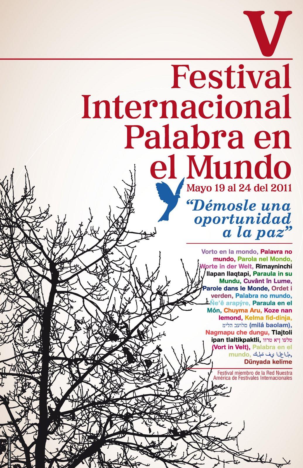"Poster2BV2BFestival2BInternacional2BPalabra2Ben2Bel2BMundo255B1255D - Festival ""Palabra en el Mundo"""