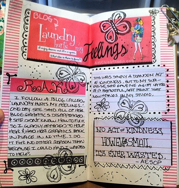 RAK Art Journal Page
