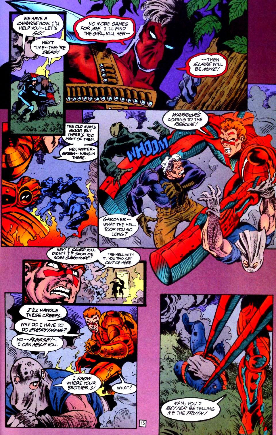 Deathstroke (1991) Issue #44 #49 - English 16
