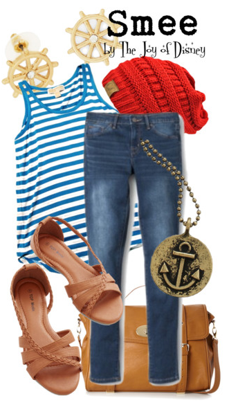 Disney Fashion, Smee, Smee Outfit, Smee Peter Pan