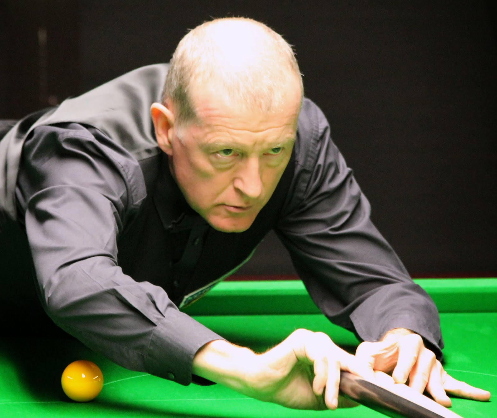 Image of snooker player Steve Davis