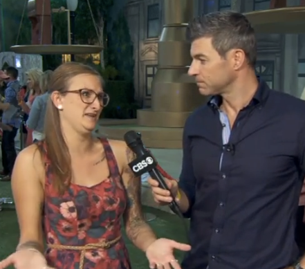 BB16 Backyard Interview Christine