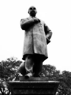 Barão de Rio Branco, na Praça, em Uruguaiana