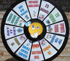 spinning wheel game show