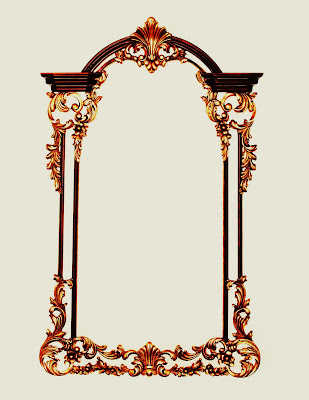 vicentez wood designs hand carved mirror frame