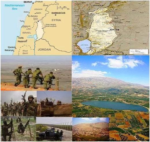 Krisis Israel-Suriah Perebutan Dataran Tinggi Golan Bagai Perang Thalut dan Jalut