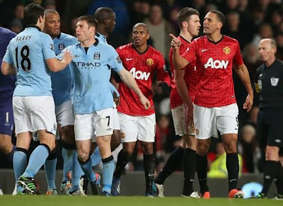 Manchester City vs Manchester United Rivals 20132014