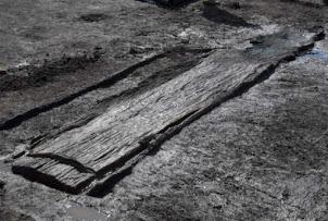Un bateau antique découvert dans le nord de l'Angleterre