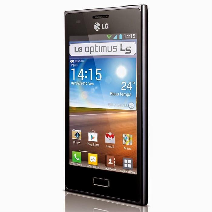 Smartphone LG Optimus L5 ii - Noir 4Go