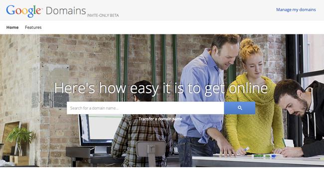 Google Mở Kênh Mua Bán Tên Miền Web