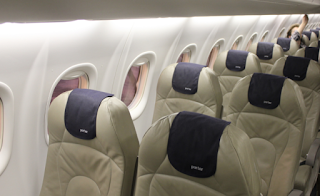 Porter Airline's Economy Class Cabin is rated as one of the world's best