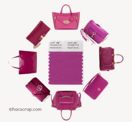 Radiant Orchid Purses