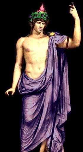 ANTINOUS THE GAY GOD (in color)  ...