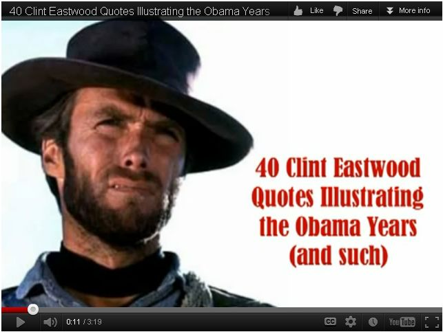 Clint Eastwood On Obam...