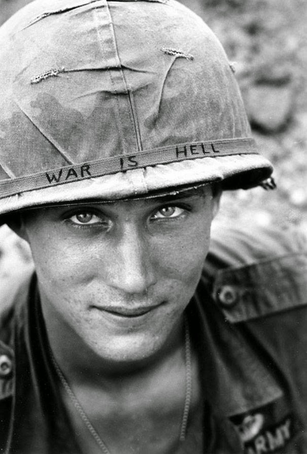 These 15 Incredibly Rare Historical Photos Will Leave You Speechless - A random but poignant soldier in Vietnam, 1965.