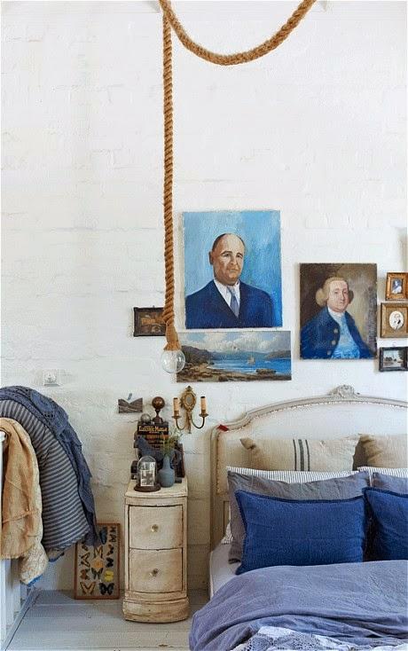 Ispirazioni. Una selezione di camere da letto country- shabby&countrylife.blogspot.it