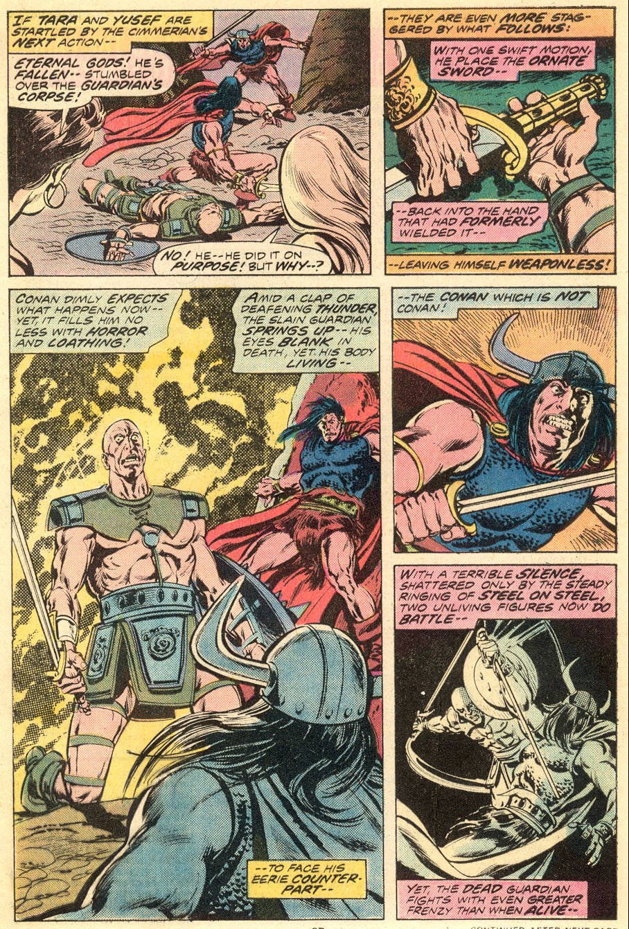 Conan the Barbarian (1970) Issue #54 #66 - English 17