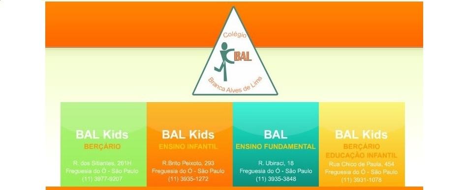 Colégio Bal - Branca Alves de Lima