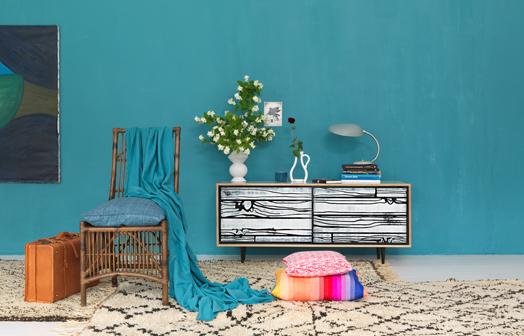 vrolijke interieurstyling: kleur in huis! - maison belle, Deco ideeën