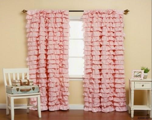 Chambre Bebe Gris Orange : Décoration rideaux bébé fille  Bébé et décoration  Chambre