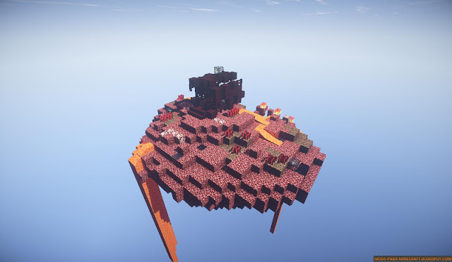 Sky Element Mapa para Minecraft 1.8