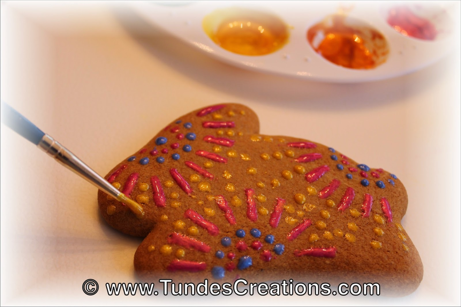 Making no icing Easter cookies by Tunde Dugantsi