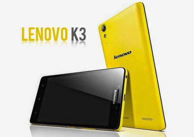Lenovo K3, dengan Android KitKat Harga 1 Jutaan